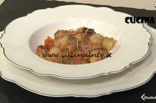 Cotto e mangiato - Gnocchetti cozze e fagioli ricetta Tessa Gelisio