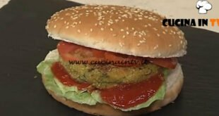Cotto e mangiato - Hamburger vegetariani ricetta Tessa Gelisio
