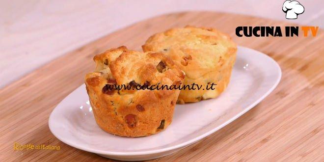 Ricette all'italiana - ricetta Muffin allo speck di Anna Moroni