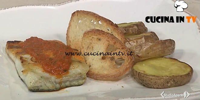 Cotto e mangiato - Ombrina alla puttanesca ricetta Tessa Gelisio