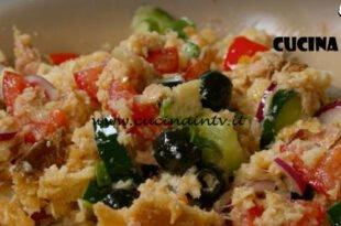 Fatto in casa per voi - ricetta Panzanella ricca di Benedetta Rossi