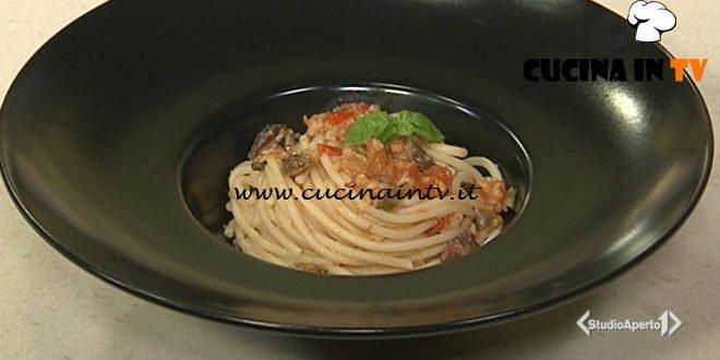 Cotto e mangiato - Pasta ai profumi del sud ricetta Tessa Gelisio