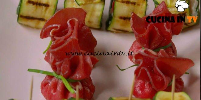 Fatto in casa per voi - ricetta Sacchettini di bresaola di Benedetta Rossi