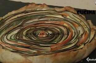 Cotto e mangiato - Torta salata a spirale ricetta Tessa Gelisio