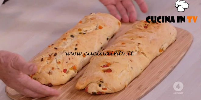 Ricette all'italiana - ricetta Baguette ripiena di verdure di Anna Moroni