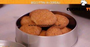 Ricette all'italiana - ricetta Biscottini ai cereali di Anna Moroni