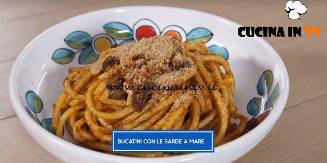 Giusina in cucina - ricetta Bucatini con le sarde a mare di Giusina Battaglia
