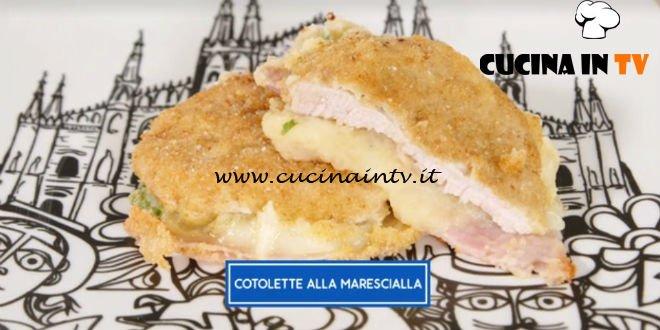 Giusina in cucina - ricetta Cotolette alla marescialla di Giusina Battaglia