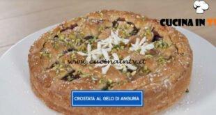 Giusina in cucina - ricetta Crostata al gelo di anguria di Giusina Battaglia