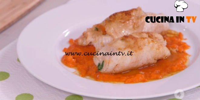Ricette all'italiana - ricetta Involtini di tacchino con coulis di peperoni di Anna Moroni