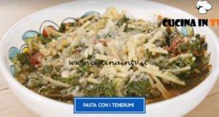 Giusina in cucina - ricetta Pasta con i tenerumi di Giusina Battaglia