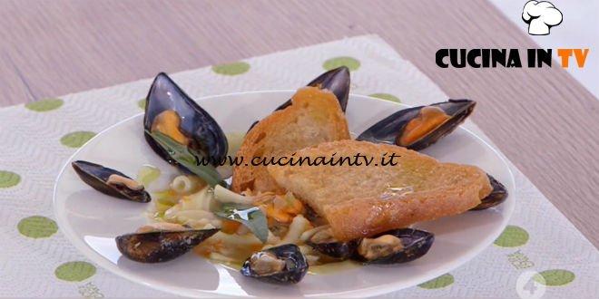 Ricette all'italiana - ricetta Pasta e fagioli con le cozze di Anna Moroni