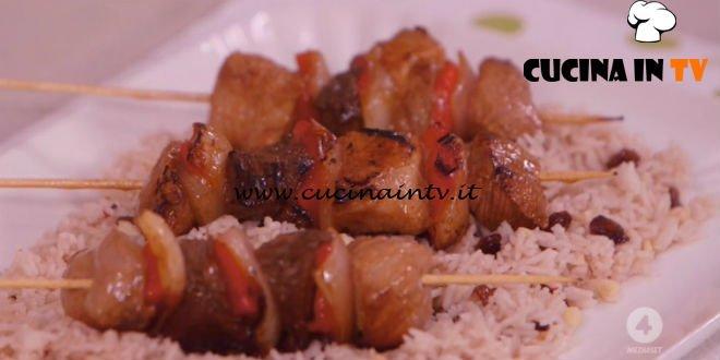 Ricette all'italiana - ricetta Riso all'orientale con spiedini di Anna Moroni
