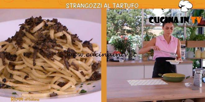 Ricette all'italiana - ricetta Strangozzi con tartufo nero di Anna Moroni