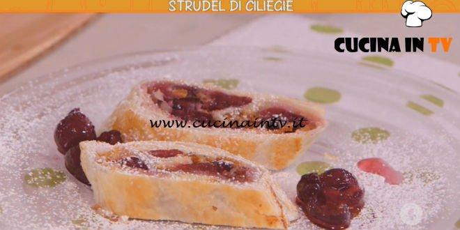 Ricette all'italiana - ricetta Strudel di ciliegie di Anna Moroni