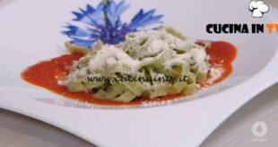 Ricette all'italiana - ricetta Tagliatelle al basilico di Anna Moroni