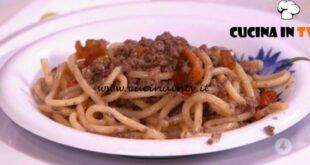 Ricette all'italiana - ricetta Umbricelli al ragù d'oca di Anna Moroni