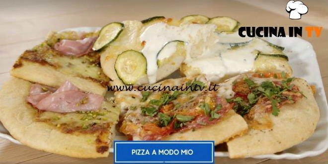 Giusina in cucina - ricetta Pizza a modo mio di Giusina Battaglia