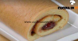 Fatto in casa per voi - ricetta Rotolo soffice con marmellata di Benedetta Rossi