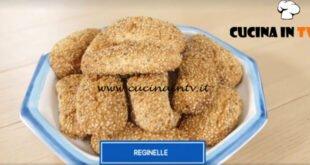 Giusina in cucina - ricetta Biscotti reginelle di Giusina Battaglia