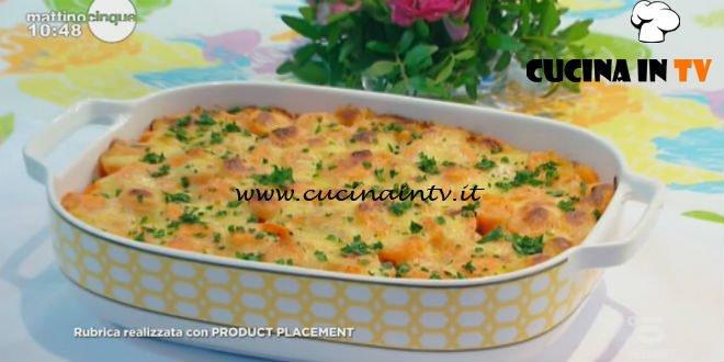 Mattino Cinque - ricetta Carote con fontina al forno di Samya