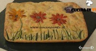 Cotto e mangiato - Focaccia decorata ricetta Tessa Gelisio