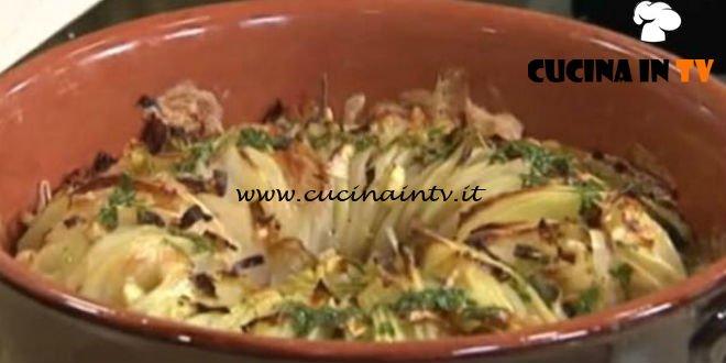 Cotto e mangiato - Millefoglie di patate con guanciale e taleggio ricetta Andrea Mainardi