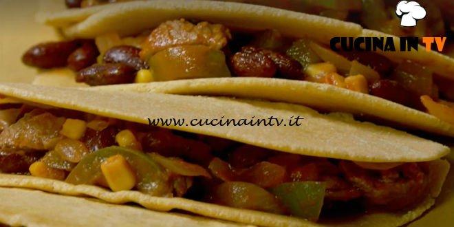 Fatto in casa per voi - ricetta Tortillas farcite di Benedetta Rossi