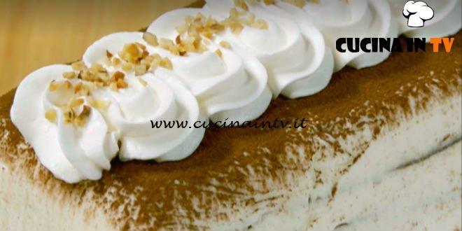 Fatto in casa per voi - ricetta Tronchetto gelato cioccolato e vaniglia di Benedetta Rossi
