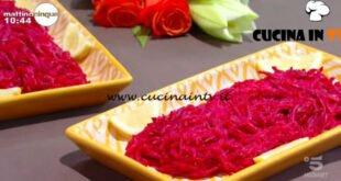 Mattino Cinque - ricetta Barbabietole alla salsa di senape di Samya