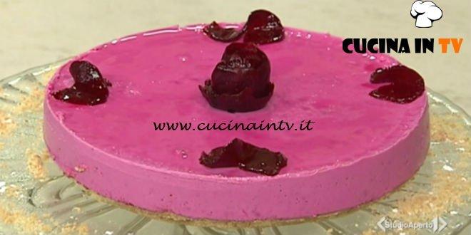 Cotto e mangiato - Cheesecake rosa ricetta Tessa Gelisio
