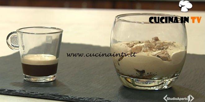 Cotto e mangiato - Crema di caffè all'acqua ricetta Tessa Gelisio