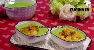 Mattino Cinque - ricetta Crema di piselli con mazzancolle al curry di Samya