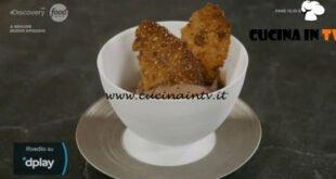 Pane Olio e Fantasia - ricetta Gelato al cioccolato e cialda croccante di Enrica Della Martira