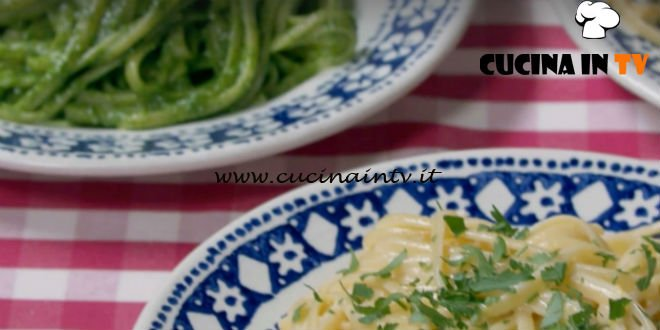 Fatto in casa per voi - ricetta Linguine veloci in tre versioni di Benedetta Rossi