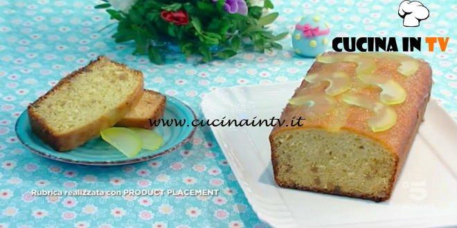 Mattino Cinque - ricetta Plumcake al cedro di Samya