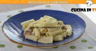 Ricette all'italiana - ricetta Rigatoni alla carbonara di Anna Moroni