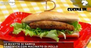 Mattino Cinque - ricetta Sandwich con macinato di pollo di Samya