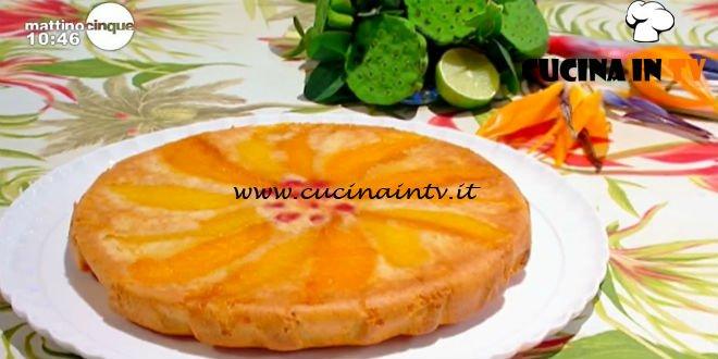 Mattino Cinque - ricetta Sformato di mango di Samya