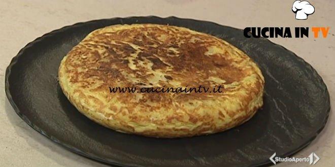 Cotto e mangiato - Tortilla di patate ricetta Tessa Gelisio