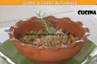 Ricette all'italiana - ricetta Zuppa di farro autunnale di Anna Moroni