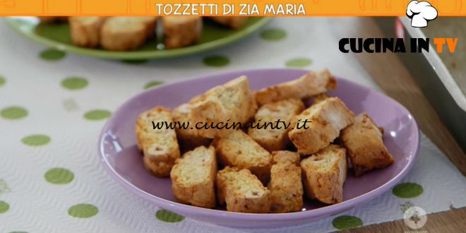 Ricette all'italiana - ricetta Tozzetti di zia Maria di Anna Moroni