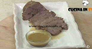 Cotto e mangiato - Arrosto con salsina al limone ricetta Tessa Gelisio