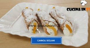 Giusina in cucina - ricetta Cannoli siciliani di Giusina Battaglia