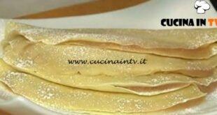 Cotto e mangiato - Crepes con purea di pere ricetta Tessa Gelisio