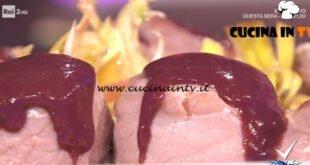 Detto Fatto - ricetta Filetto di maiale con speck e carciofi di Cristian Bertol