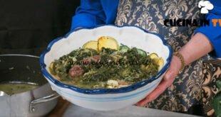 In cucina con Imma e Matteo - ricetta Minestra maritata