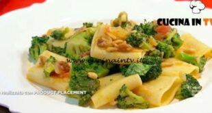 Mattino Cinque - ricetta Paccheri con broccoli e acciughe di Samya