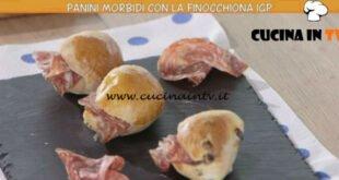 Ricette all'italiana - ricetta Panini morbidi con finocchiona di Anna Moroni