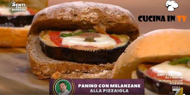 Senti chi mangia - Panino con melanzane alla pizzaiola ricetta Felix Lo Basso